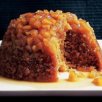 Steamed Apple Pudding